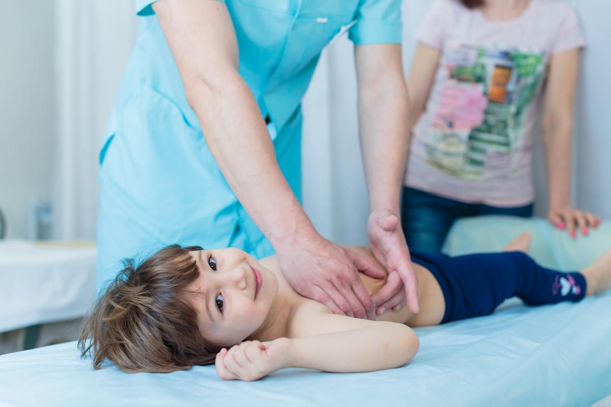 Картинка детская массаж